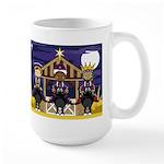 Three Kings Christmas Nativity Coffee Mug