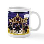Cute Three Kings Nativity Christmas Coffee Mug