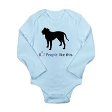 Alapaha Blue Blood Bulldog Long Sleeve Infant Body