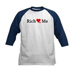 Rich Loves Me Kids Baseball Jersey