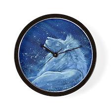 Star Lion Wall Clock