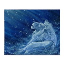 Star Lion Throw Blanket