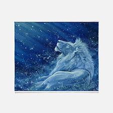 Star Lion Throw Blanket