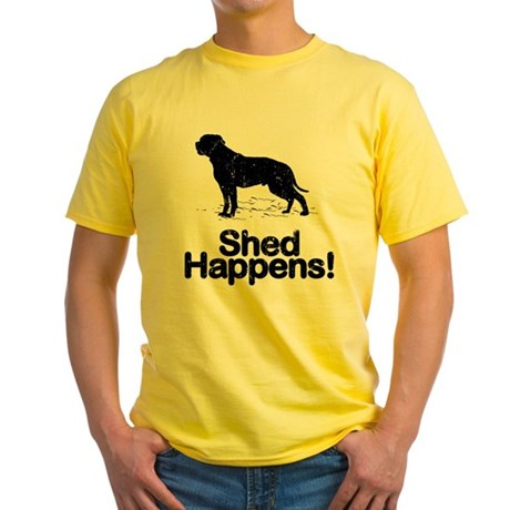 American Bulldog Yellow T-Shirt
