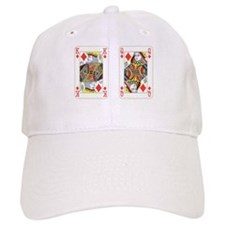 Cute King diamonds Baseball Cap