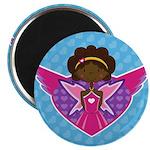 Adorably Cute Fairytale Princess Magnet