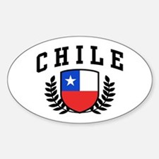 Chile Sticker (Oval)
