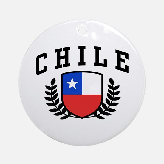 Chile Ornament (Round)