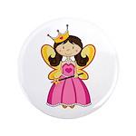 """Adorable Fairytale Princess 3.5"""" Button (100"""