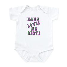 Read night Infant Bodysuit