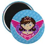 """Adorable Fairytale Princess 2.25"""" Magnet (100"""