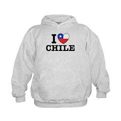 I Love Chile Hoodie