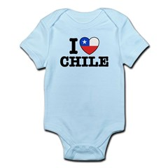 I Love Chile Infant Bodysuit