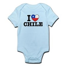 I Love Chile Infant Bodysuit