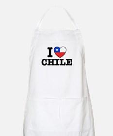 I Love Chile Apron