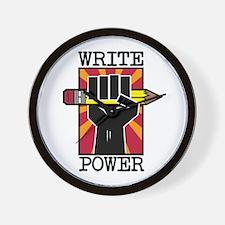 Write Power Wall Clock