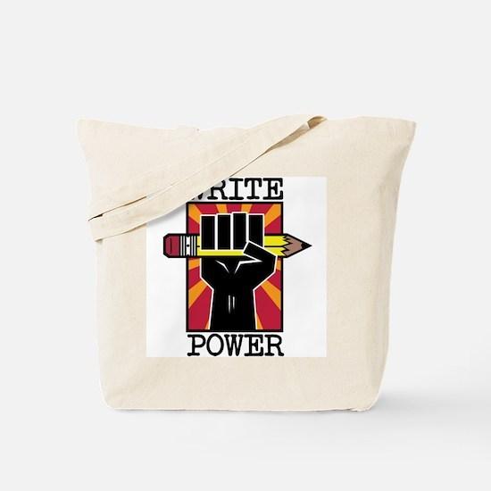 Write Power Tote Bag