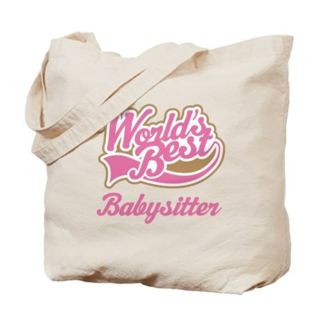 Cute Babysitter Tote Bag