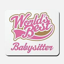 Cute Babysitter Mousepad