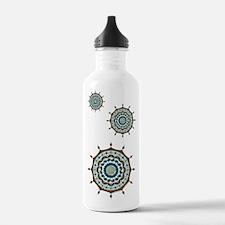 Mehndi Fantasy Copper Sports Water Bottle
