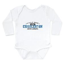Charleston Air Force Base Long Sleeve Infant Bodys