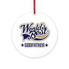 Godfather Ornament (Round)