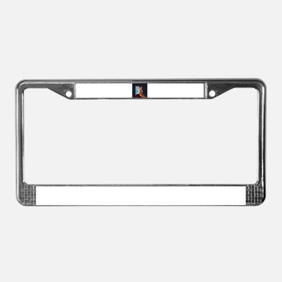Cute Dogs and puppies License Plate Frame