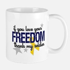 Freedom Soldier Mugs
