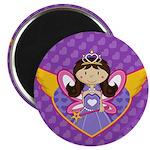 """Adorable Fairytale Princess 2.25"""" Magnet (10"""