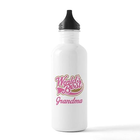 Worlds Best Grandma Stainless Water Bottle 1.0L
