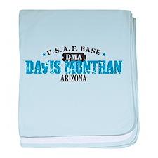 Davis Monthan Air Force Base Infant Blanket