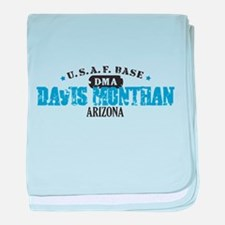 Davis Monthan Air Force Base Infant Blanket