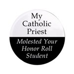 """Honor Student 3.5"""" Button"""