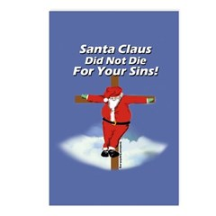Santacross Postcards (Package of 8)