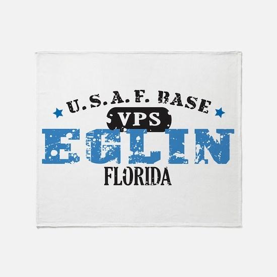 Eglin Air Force Base Throw Blanket