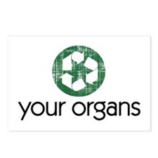 Funny Kidney donations Postcards (Package of 8)