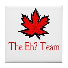 The Eh? Team Tile Coaster
