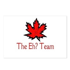 The Eh? Team Postcards (Package of 8)