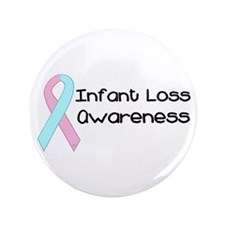 """Infant Loss Awareness 3.5"""" Button"""
