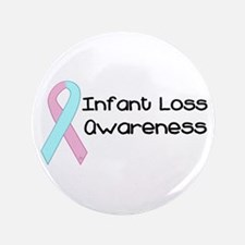 "Infant Loss Awareness 3.5"" Button"