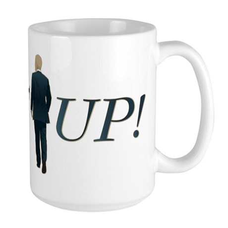 Suit Up! Large Mug