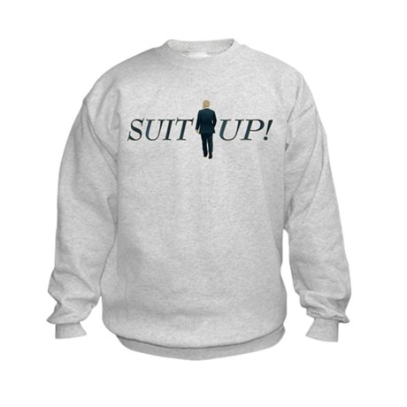 Suit Up! Kids Sweatshirt