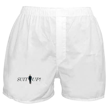 Suit Up! Boxer Shorts