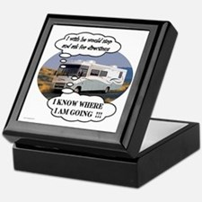 Ask For Directions !! Keepsake Box