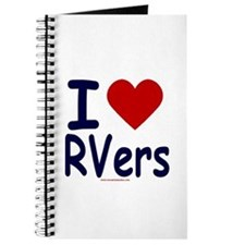 I Love (Heart) RVers Journal