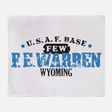 F E Warren Air Force Base Throw Blanket
