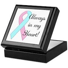 Always in my Heart - Infant L Keepsake Box
