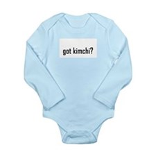 Got Kimchi? Long-Sleeve Baby Bodysuit +more colors