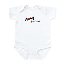 I Love Montauk Infant Creeper