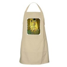 "Apron with ""Kiss"""